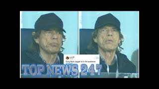 France vs Belgium: Mick Jagger whips World Cup fans into a frenzy with appearance