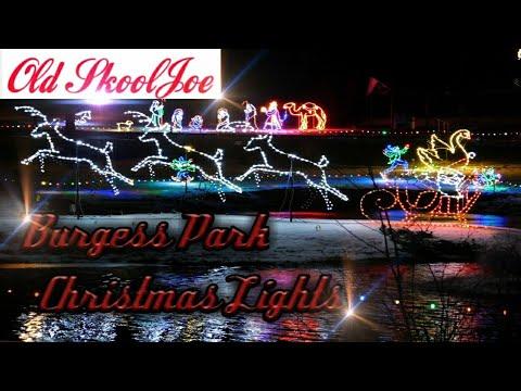 OLDSKOOLJOE #027 (BURGESS PARK CHRISTMAS LIGHTS TITUSVILLE,PA TO