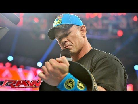 Kevin Owens interrupts John Cena: Raw, June 22, 2015