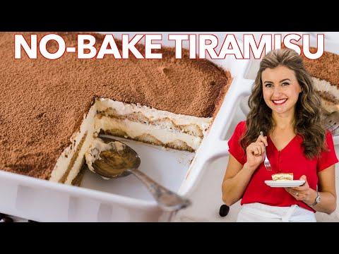 Easy TIRAMISU Cake | No-Bake Dessert