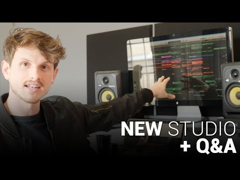 🔥NEW STUDIO TOUR + Q&A 🔥| musicbyLUKAS | TEAMMBL