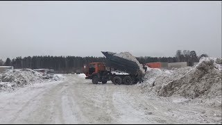 Незаконный снежный полигон / Новости