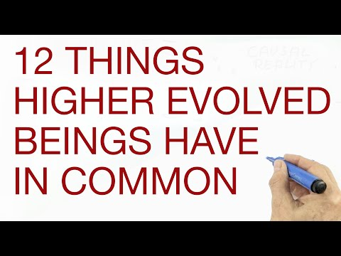 12 Things Highly Evolved Beings Have In Common by Hans Wilhelm