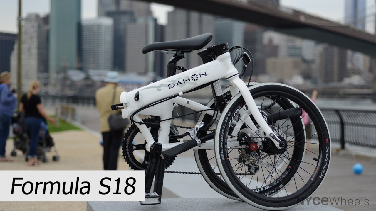 Dahon Formula Fast And Tough Folding Bike Youtube