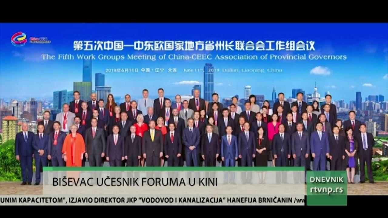 Gradonačelnik Nihat Biševac učesnik foruma u Kini - Sandzaklive