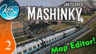 Mashinky Ep 2: MANAGING A PROFIT - ALPHA Map Editor Update! - Let's Play, Gameplay