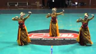 Tari Kreasi Genjring Party By Maheswari @closing Feui Cup 2011, Hall A Senayan