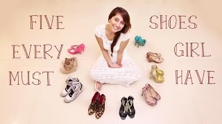 Five Shoes Every Girl MUST HAVE! | Anusha Dandekar