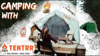 Camping With TENTRR Iฑ Big Indian, New York
