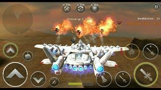 Gunship Battle: White Moth In Action.