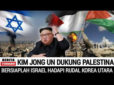 TAK DISANGKA.!!! DENGAN TEGAS KEKUATAN MILITER KIM JONG UN BERADA DIPIHAK PALESTINA