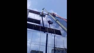 Вот так мы строим фасады(Фасадное остекление в Кишинёве., 2016-03-27T07:04:55.000Z)
