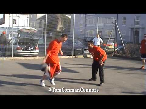 CONMAN STRAIGHT UP NASTY ON COURT! BEST STREETBALLER EVER!
