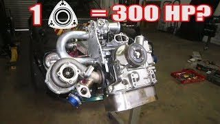 MAZDA ONE ROTOR = 300 HORSEPOWER? How!? Go Fast Parts & Porting... One Rotor Speedster Build!