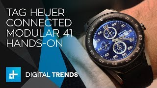 Tag Heuer Connected Modular 41 Smartwatch Hands-On