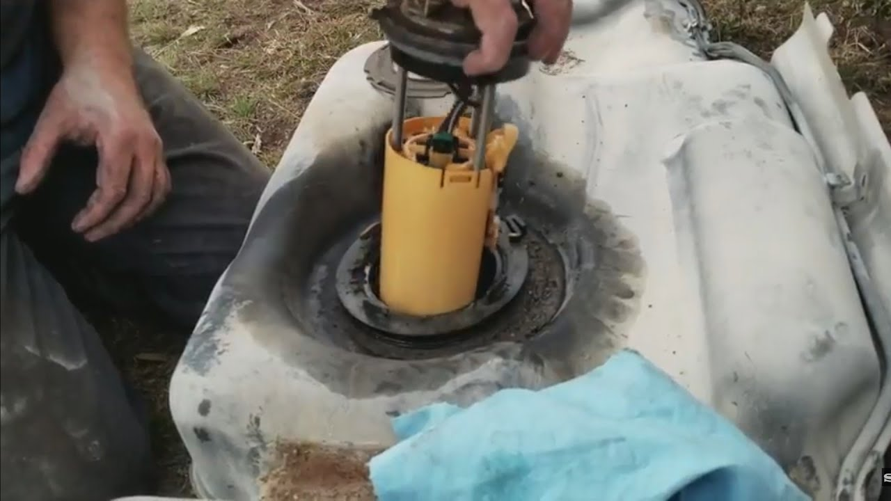 Chevy Tahoe Fuel Pump Replacement Youtube