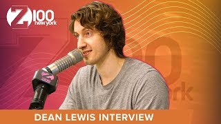 dean lewis talks the story behind be alright australian slang love for halloween