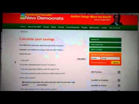 Saskatchewan New Democrats: Calculating Failure