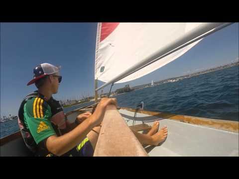 Sabot Sailing in San Diego