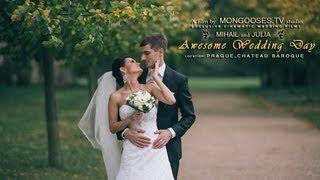 Свадьба в Чехии в замке Либлице (Шато Барокко), свадебное видео | Wedding in Czech  Liblice castle