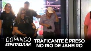 Polícia Federal prende traficante internacional de drogas no RJ