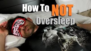 How To NOT Oversleep | 5 Early Rising Tips | How To Be A Morning Person