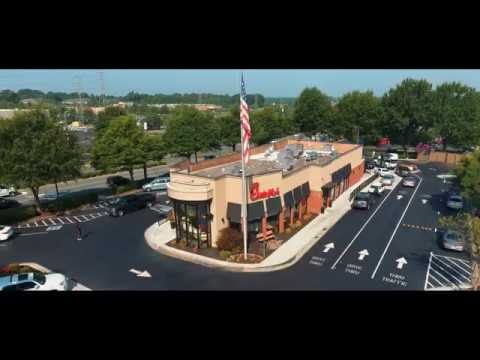 Innovative Structure at Chick-fil-A Hanes Mall Boulevard!