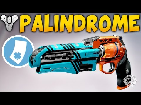 Destiny: THE 2 TAP BEAST! Palindrome Luck In The Chamber Roll & Gameplay (Rise of Iron)