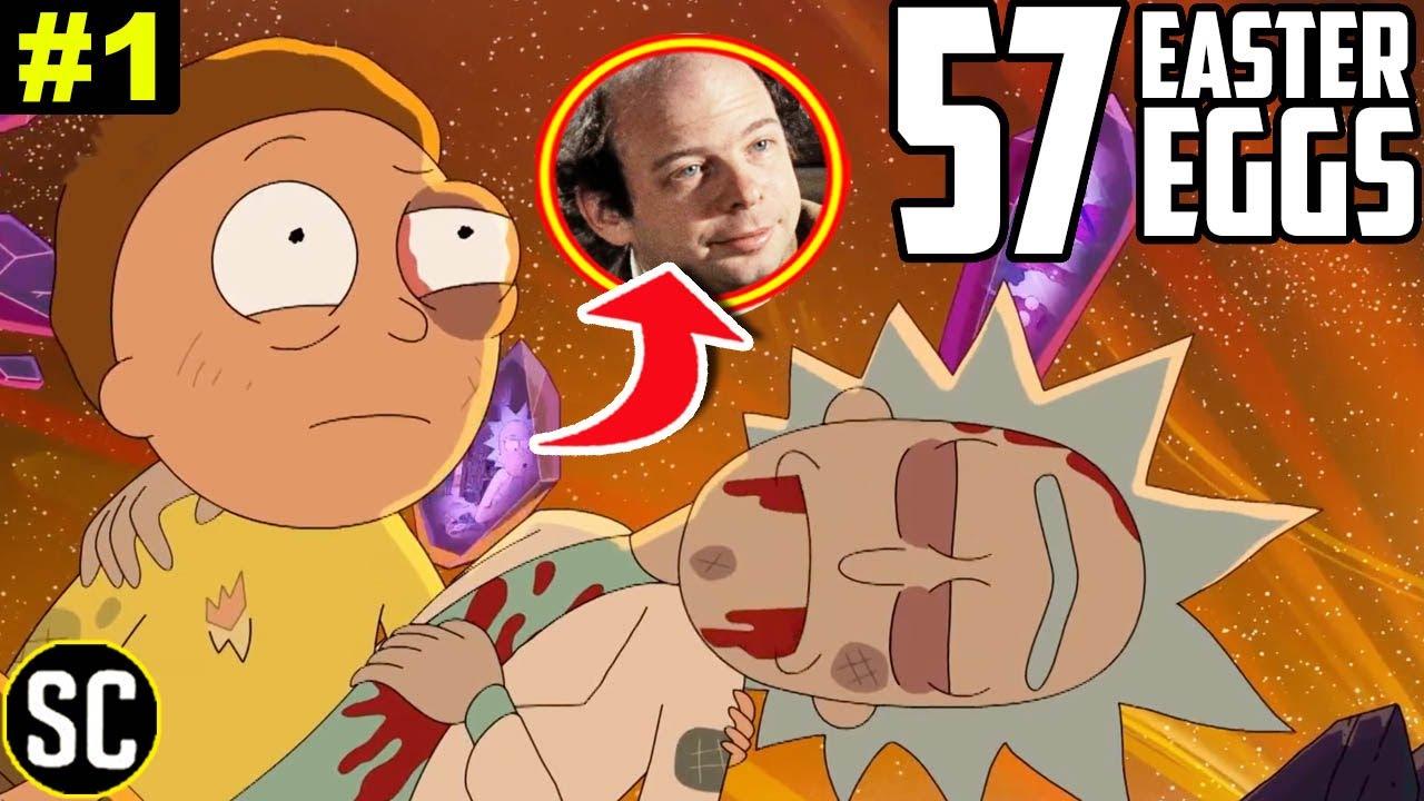 Rick and Morty 5x01: Every EASTER EGG & Hidden Joke In Mort Dinner Rick Andre   Episode BREAKDOWN