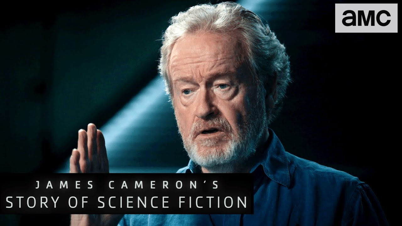 Ridley Scott On Why Filmmakers Are The New Novelists James Cameron S Story Of Science Fiction