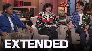 Finn Wolfhard, Chosen Jacobs, Wyatt Oleff On 'IT Chapter Two'