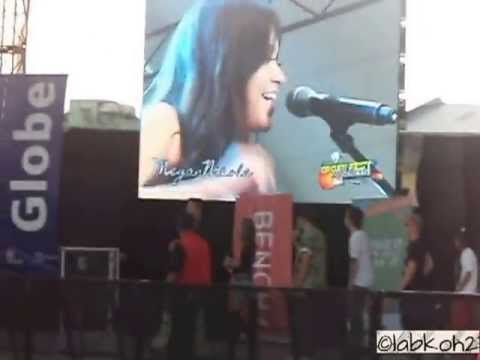 Glad You Came - Megan Nicole (Circuit Fest 2013 at Manila)