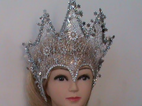 Новогодние короны своими руками 989
