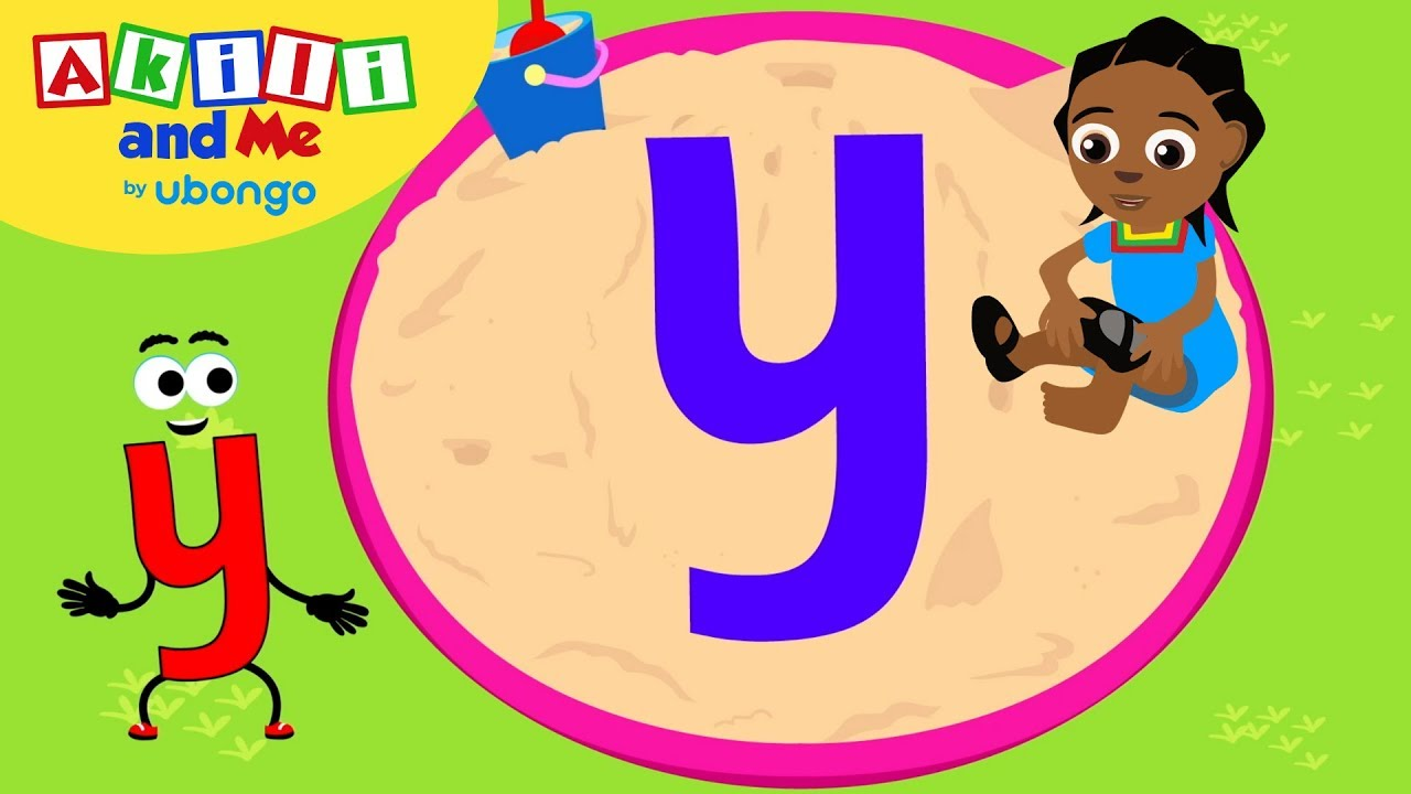 Meet Letter Y! | Learn the Alphabet with Akili | Cartoons from Africa - corrected