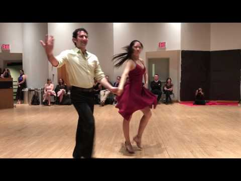 "Jonathan and Sally | Samba/Salsa | ""Cold Water""/""Valió La Pena"" | CU Ballroom Spring 2017"