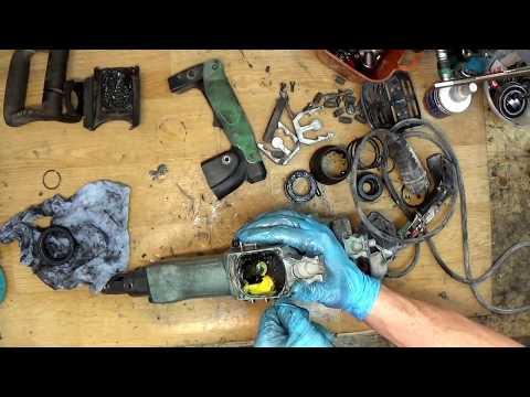Hitachi H45MR demolition hammer repair o-rings and grease repair