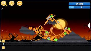 Angry Birds trick or treat 3 Estrellas instancia de parte 3-13