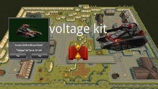 Tanki Online Voltage kit Gameplay