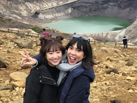 仲川遥香 HarukaNakagawa Fitrop Ini lho pilihan kita! jalan-jalan ke Tohoku dan Hokkaido, Jepang Ep.1