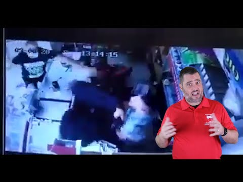 Israeli Shop Owner Shows Great Attitude
