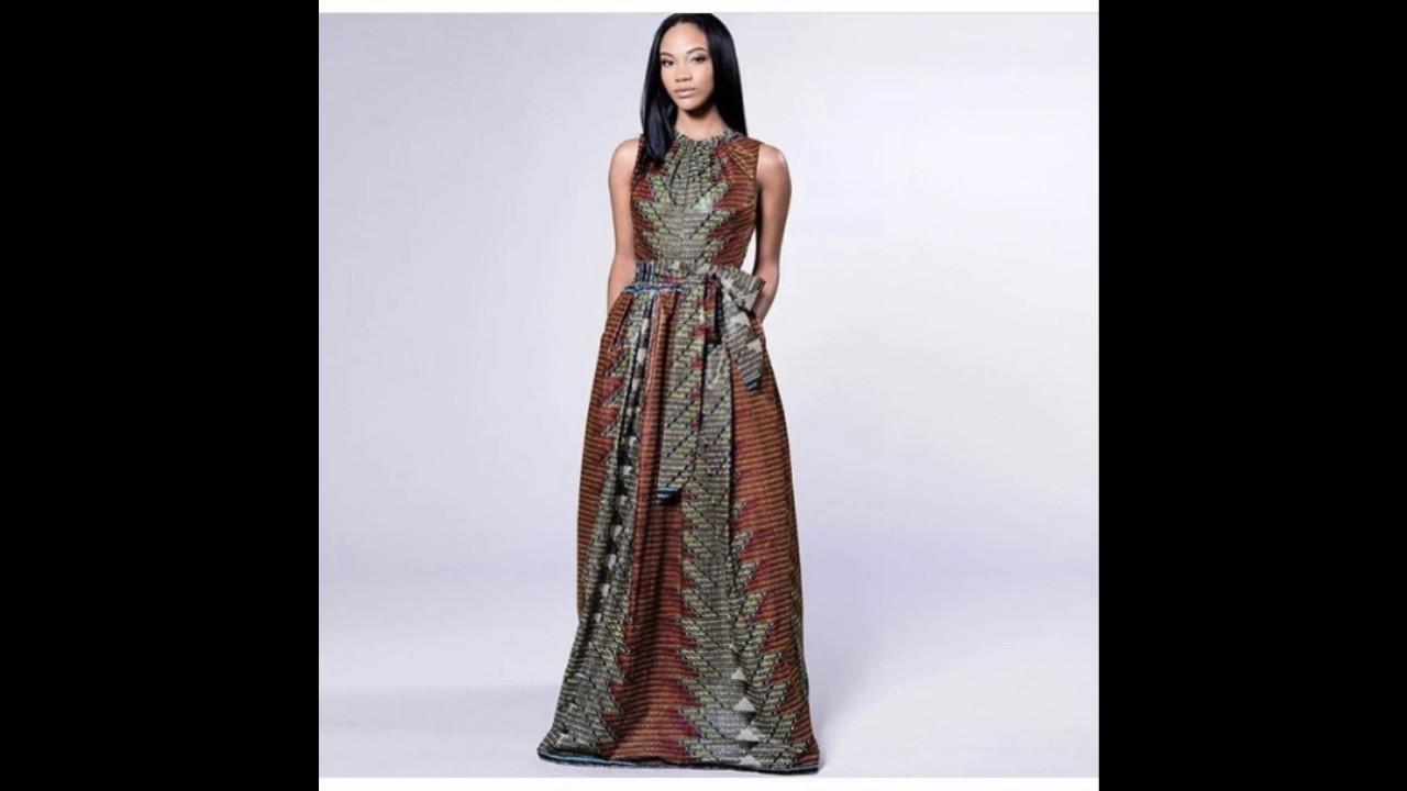 rubrique mode et beaute robe wax pr nafissa 19 mai 2017 dans morning king youtube. Black Bedroom Furniture Sets. Home Design Ideas