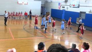 6th grade southbury girls travel bball 1st ot