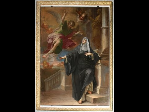 St Monica and Our Lady