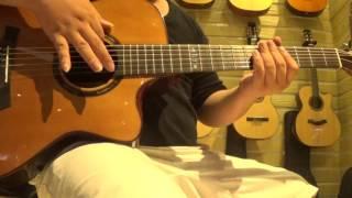 Test Aquarius Guitar GLC Acoustic