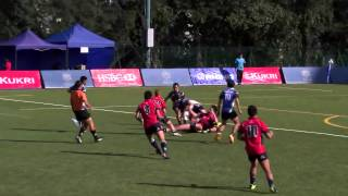 Hong Kong vs Thailand   ARFU U20 Sevens Series Day 2