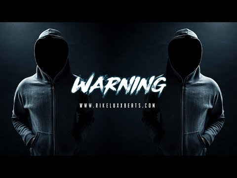 "(FREE) Dark Trap Beat / Trap beat Instrumental 2018 - ""WARNING"" - Dark Hip Hop Beat 2018 / Free Beat"