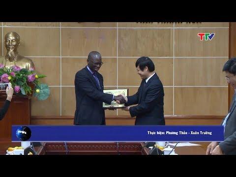 (TTV) Chủ tịch UBND tỉnh tiếp và làm việc với Giám đốc Quốc gia Ngân hàng thế giới (WB) tại Việt Nam