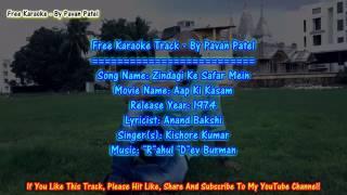 Zindagi ke Safar Me Guzar jate Karaoke..
