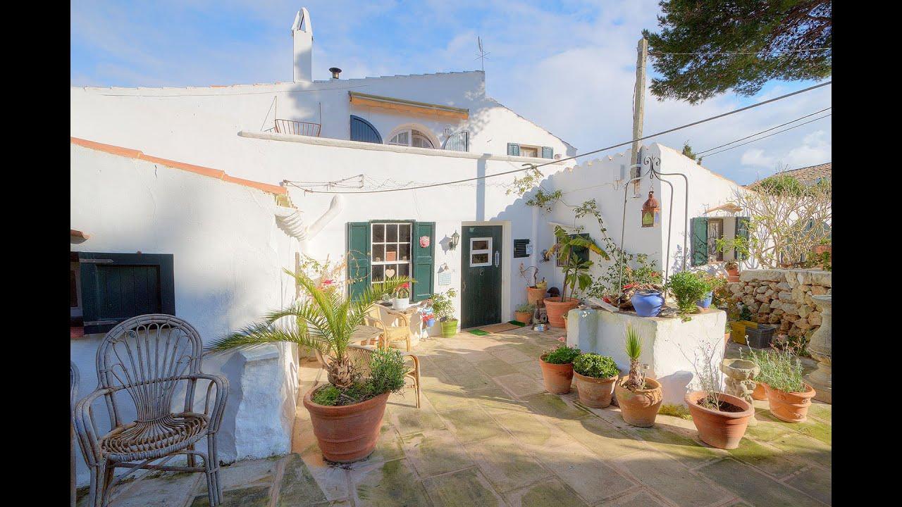 Menorca casa de campo con encanto en torret youtube - Casas en menorca ...