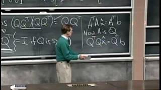 Lec 17 | MIT 18.06 Linear Algebra, Spring 2005